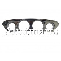 Tri-Line Chrome Gauge Trim Cover For Harley Touring Glide & Trike 2014 -2015 (P/N: CFP-HL1584-093)