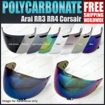 Helmet Visor for Arai RX7 RR4 RR3 Corsair Quantum Astro