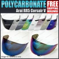Helmet Visor for Arai RX7 RR5 RXQ Corsair Quantum